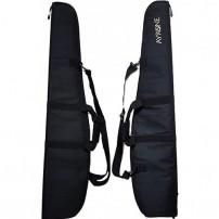 AYRONE Fodero per carabina imbottito con manici e tracolla 110cm Colore NERO con Logo Armeria Ceccoli