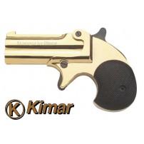 KIMAR-PISTOLA DERRINGER CAL.6mm A SALVE GOLD
