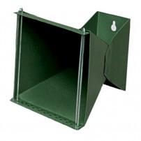 NORCONIA 87561 Porta bersaglio 14x14 regolabile anche per 10x10 laccato Verde