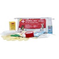 BALLISTOL SET PER ANIMALI DOMESTICI 9 pezzi Kit di primo soccorso per animali domestici
