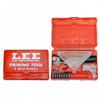 LEE - NUOVO INNESCATORE MANUALE KIT + Shell Holders - 90215