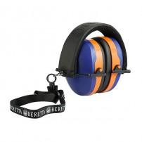 Cuffia da tiro GridShell Earmuff  blu/arancio Beretta