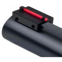 Mirino per bindella inferiore a 8,1mm colore fibra ottica rossa da 1mm
