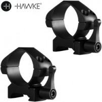 HAWKE - ATTACCO PRECISION STEEL 30mm H5mm BASSO A SGANCIO RAPIDO - 23015