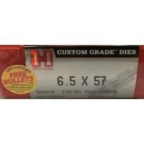 HORNADY - DIE SET Cal.6.5x57 2 pezzi Full Length - 546284