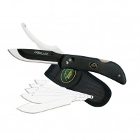 OUTDOOR EDGE - COLTELLO RAZOR RPO RO-10 BLACK 6 Lame di ricambio