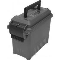 MTM - TPC1C Cassetta porta pistola COMPATTA rigida e lucchettabile dim.28 x 12,7 x 18,3h colore Dark Gray