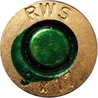 CARTUCCE RWS DA MACELLAZIONE CAL.9x17. 380AUTO VERDE