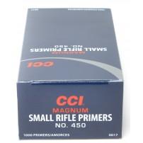 CCI- INNESCHI CCI 450 small rifle Magnum - 0017 Conf. da 1.000 pz.