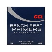 CCI- INNESCHI CCI BR4 Small rifle Bench Rest - Conf. da 100 pz.