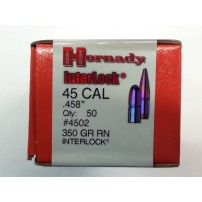 PALLE HORNADY INTERLOCK CAL.45.458'' 350grs RN - 4502