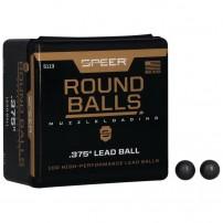 Speer palle tonde 375'' per avancarica