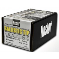 Nosler Ballistic Tip 277'' 150gr Spitzer - 27150