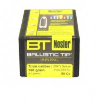 Nosler Ballistic Tip Cal.7mm 284'' 150 gr Spitzer - 28150