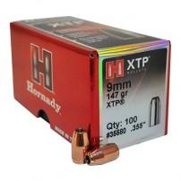 Palle Hornady C.9mm.355'' 147gr XTP HP 35580