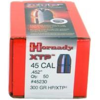 HORNADY PALLE XTP CAL.45 (.452) 300GRS COD.45230