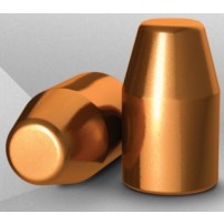 Palle H&N CAL.40.401'' 195grs TC HS COPPER PLATED