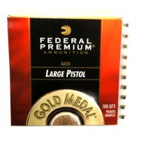 INNESCHI FEDERAL GM150M Match LARGE PISTOL