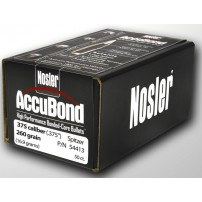 Nosler Accubond 375'' 260gr Spitzer - 54413