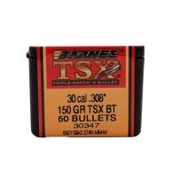 BARNES - PALLE TSX Cal.30.308'' 150gr TSX-BT - 30841-30347