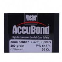 Nosler Accubond CAL.8mm.323'' 200gr Spitzer - 54374