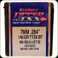 BARNES - PALLE TSX-Tipped Cal.7mm.284'' 140gr TSX-BT-28474-30300