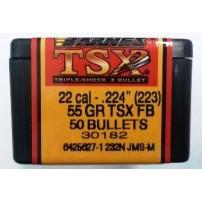 Barnes TSX-Bullet cal. 224 55gr TSX - 22444