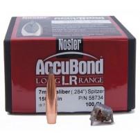 Nosler Accubond LR cal. 7mm.284'' 150grs SPITZER - 58734