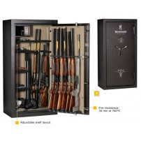 BROWNING SAFE DEFENDER Cassaforte per 23 armi con tesoretto - Armadio Blindato