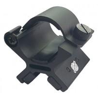 ATTACCO Magnetico per torcia H.47mm Anelli per ottica e torcia da 1''/25mm