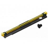 MIRINO FIBRA OTTICA LUNGO 55 mm VERDE per filetti con passo 2,6 e 3mm
