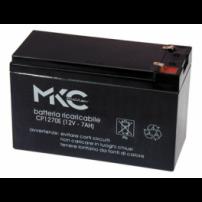 MKC - BATTERIA AL PIOMBO RICARICABILE 12V 7AH - 491460215
