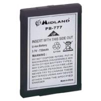Batteria litio 3,7V da 650mAh