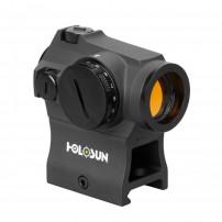 HOLOSUN HS403R Micro Red  Dot Rotary Switch 2MOA Completo di attacco