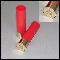 CHEDDITE - BOSSOLI Cal.32 T1 H.63 rosso non svasati - Conf. da 100 pz.