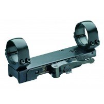 CONTESSA SBP01 Base amovibile per guide picatinny con anelli da 30mm H 5mm