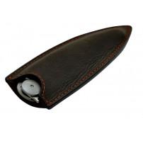 Fodero in pelle DEEJO color nero per coltello 37gr.