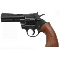 BRUNI-PISTOLA REVOLVER MAGNUM 4'' CAL.380/9mmK SALVE BLACK