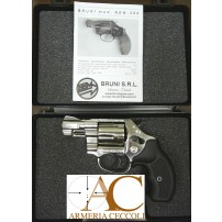 BRUNI - REVOLVER New 380 2'' NIKEL Cal.380 9mmK a 5 colpi SALVE