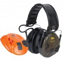 3M PELTOR SportTac Cuffia Elettronica per la caccia Colore Verde e Arancio