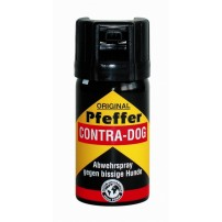 CONTRA DOG Spray al peperoncino da 60gr con 2.000.000 di SCOVILLE. Getto a cono nebulizzato fino a 4 mt