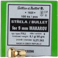 Palle Sellier&Bellot cal. 9 MAKAROV 95 gr FMJ