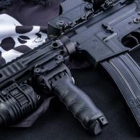 FAB DEFENCE T-PO G2 PR Impugnatura tattica rotante, allungabile e  bipiede