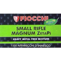 FIOCCHI INNESCHI SMALL RIFLE MAGNUM ZetaPi Conf. da 1.500 pz.