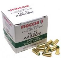 FIOCCHI - CARTUCCIA A SALVE PER MATTAZIONE VERDE Cal.22 Conf. da 200pz.