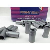 FIOCCHI - BOSSOLI Cal.38 plastica Funny Shot