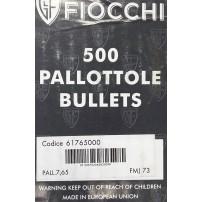 FIOCCHI - PALLE Cal.7,65 73grs FMJ Conf. da 500 pz.