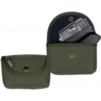 GERMAN Tasca porta caricatore da cintura in tessuto di poliestere 1200 D impermeabile, imbottitura antiurto mm.6, cm.14 x 3,5 x 9h