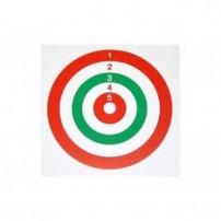 BERSAGLIO TRICOLORE 14X14 DA 300gr/mq circa Conf. 50 pz.