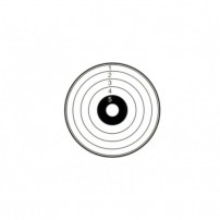 BERSAGLIO TIPO STANDARD 14X14 DA 300gr/mq circa Conf. 50 pz.